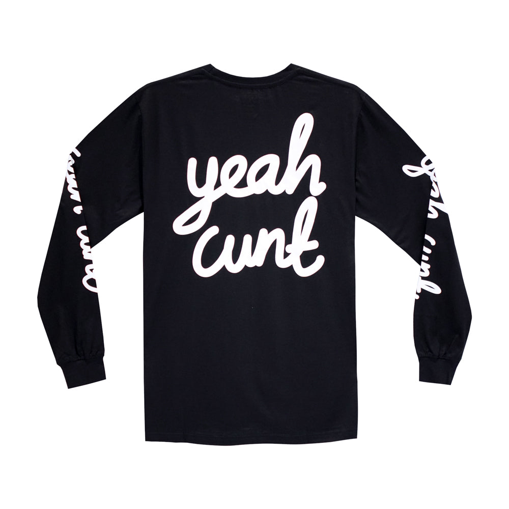 YEAH CUNT LONG SLEEVE