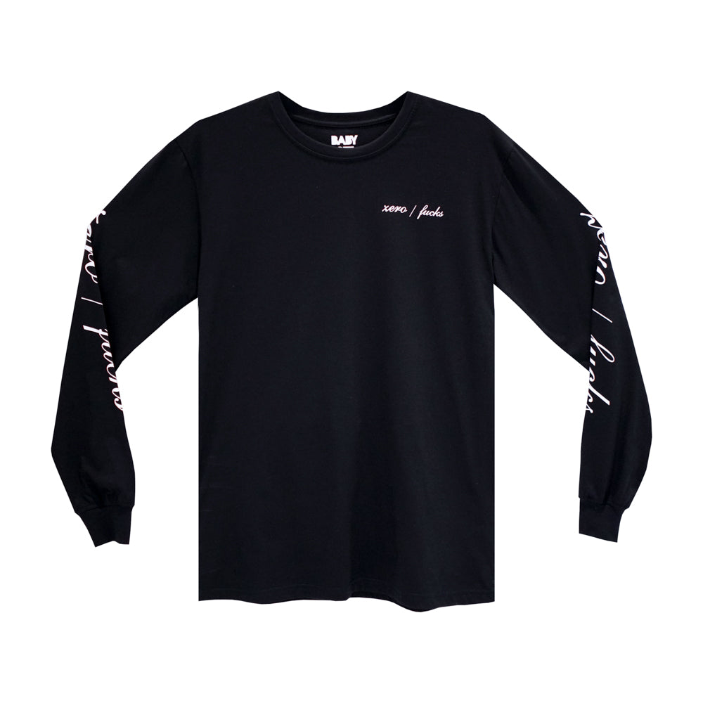 ZERO FUCKS LONG SLEEVE