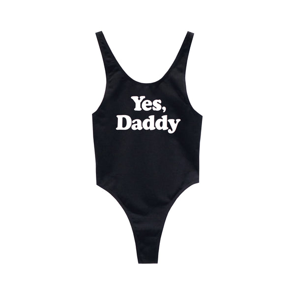 YES DADDY BODYSUIT MID CUT