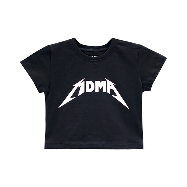 MDMA CROP TEE FITTED