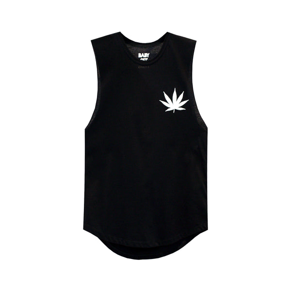 SMOKE WEED GIRLS MUSCLE TEE SMALL PRINTS