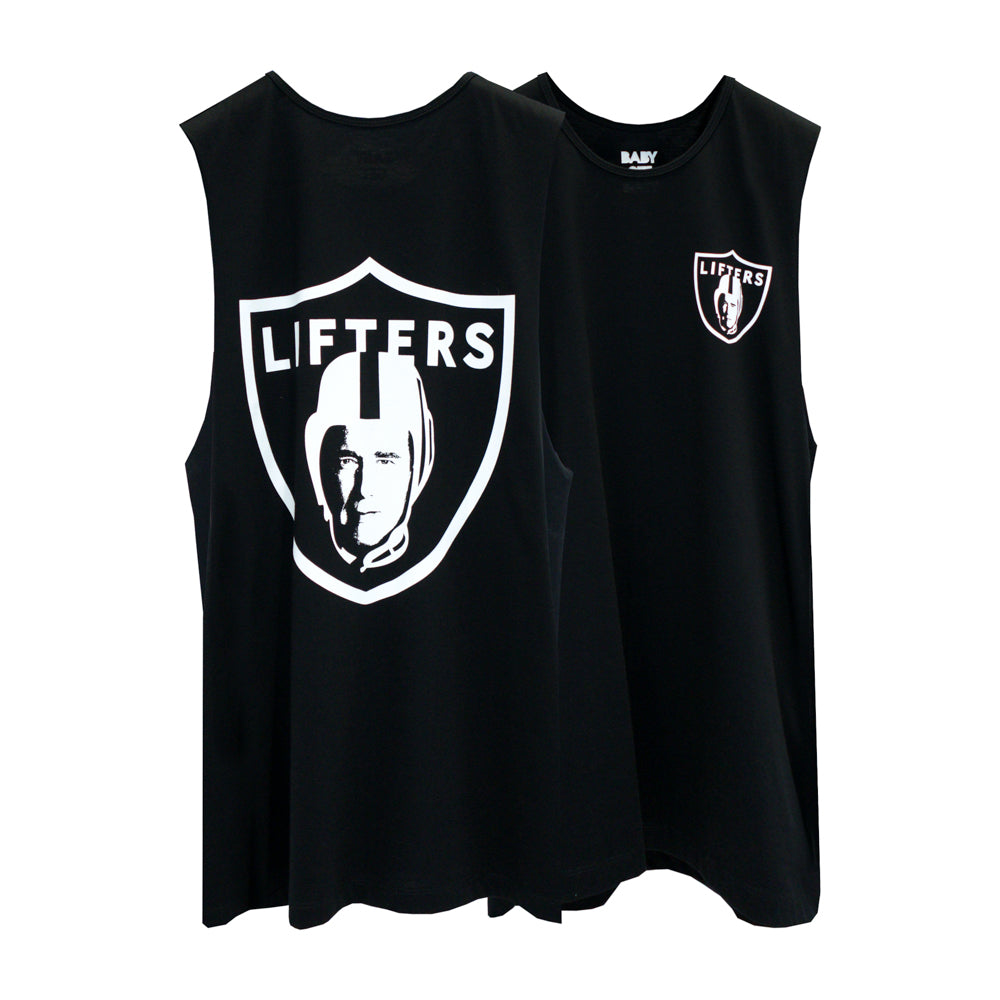 LIFTERS BOYS MUSCLE TEE SMALL PRINTS
