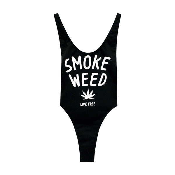 SMOKE WEED BODYSUIT LOW V2