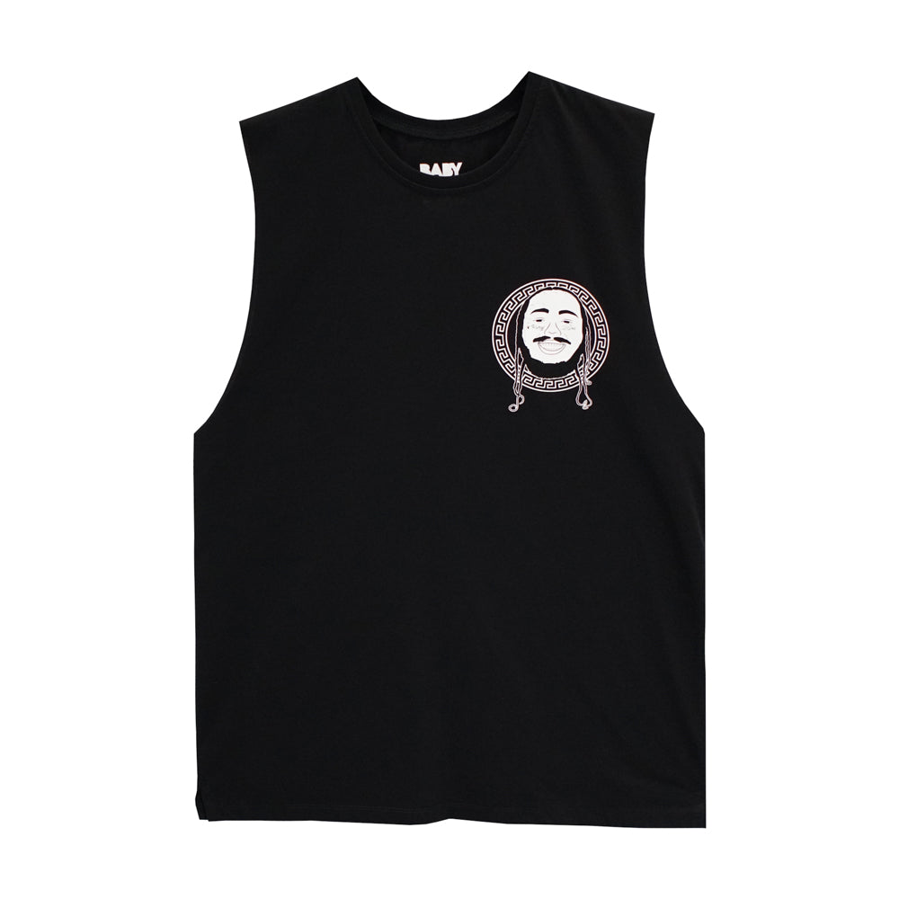 POSTIE BOYS MUSCLE TEE SMALL PRINTS