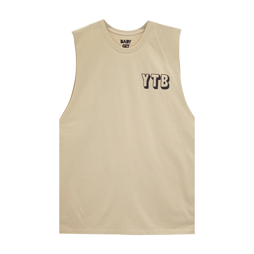 YEAH THE BOYS BOYS MUSCLE TEE SMALL PRINTS
