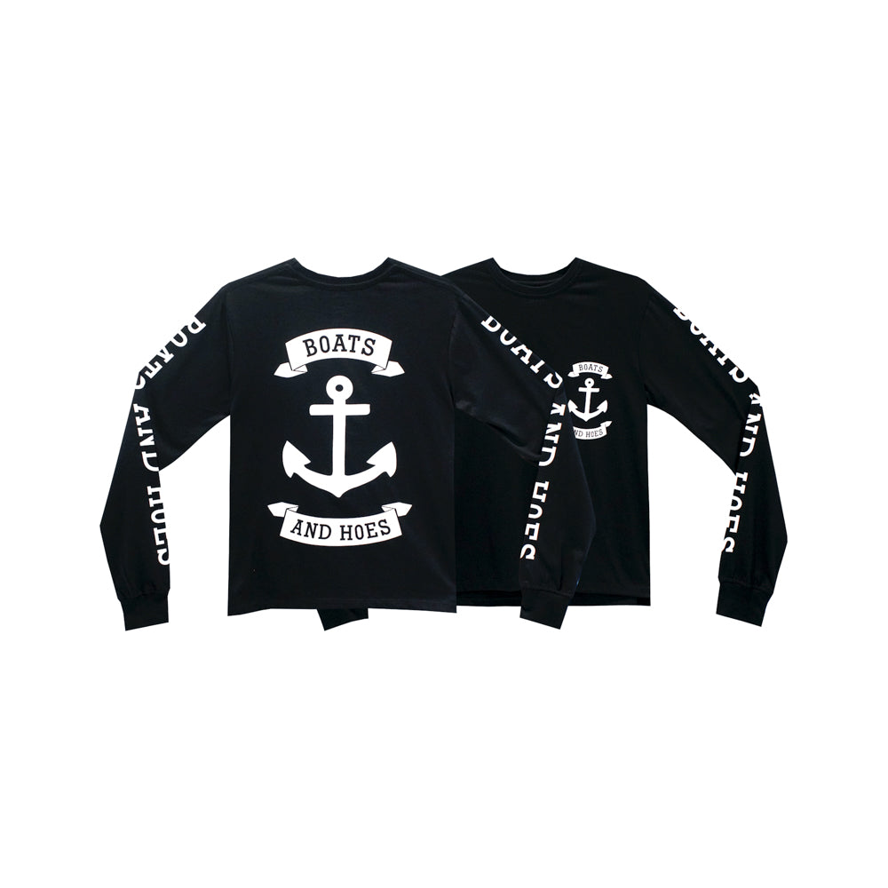 BOATS AND HOES GIRLS LONG SLEEVE