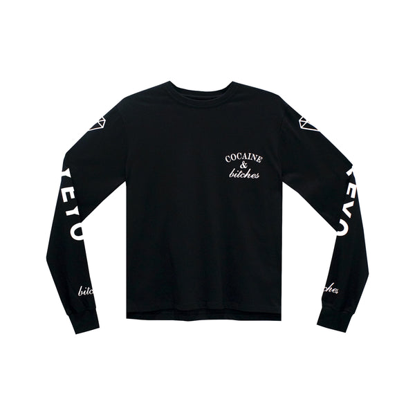 COCAINE & BITCHES GIRLS LONG SLEEVE