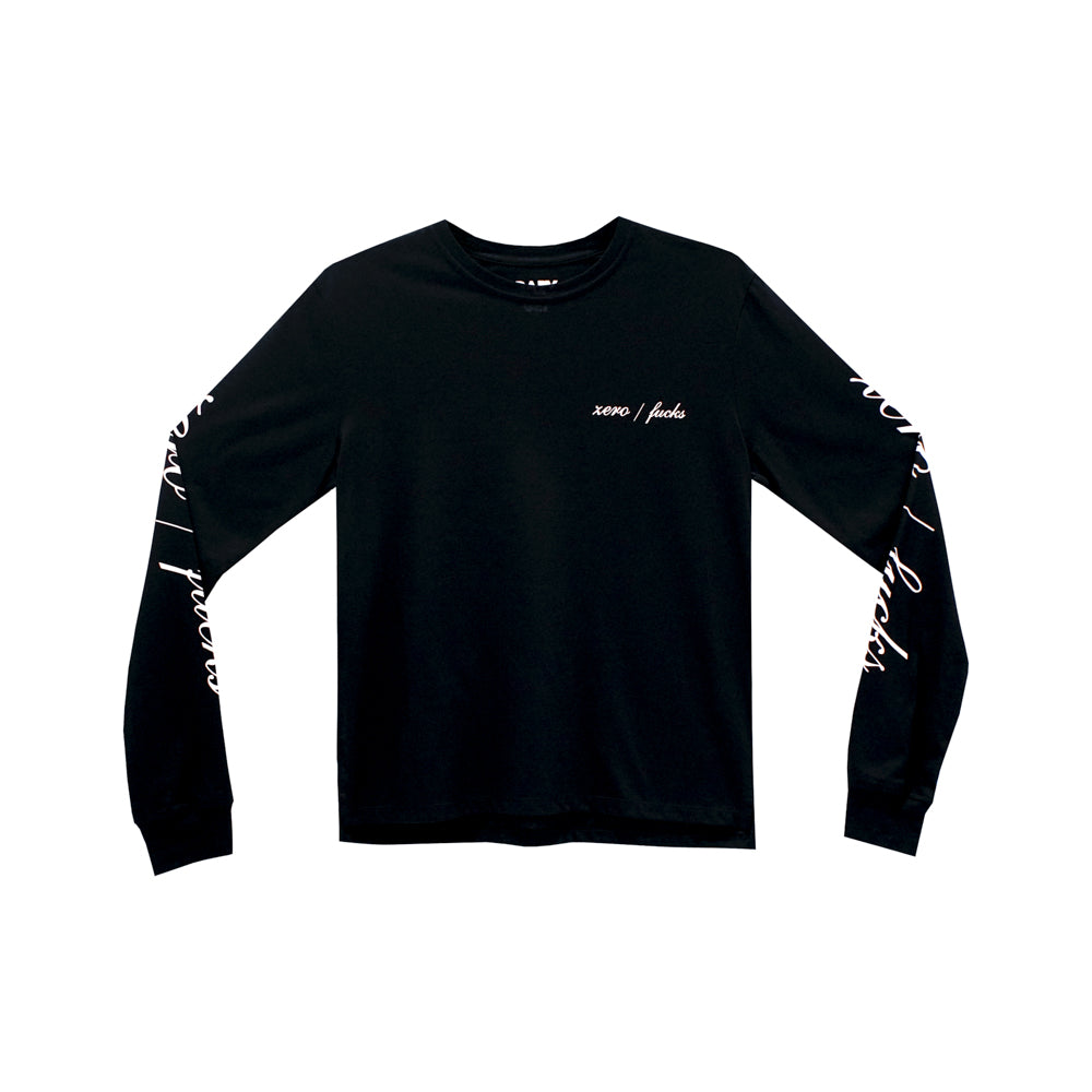 ZERO FUCKS GIRLS LONG SLEEVE