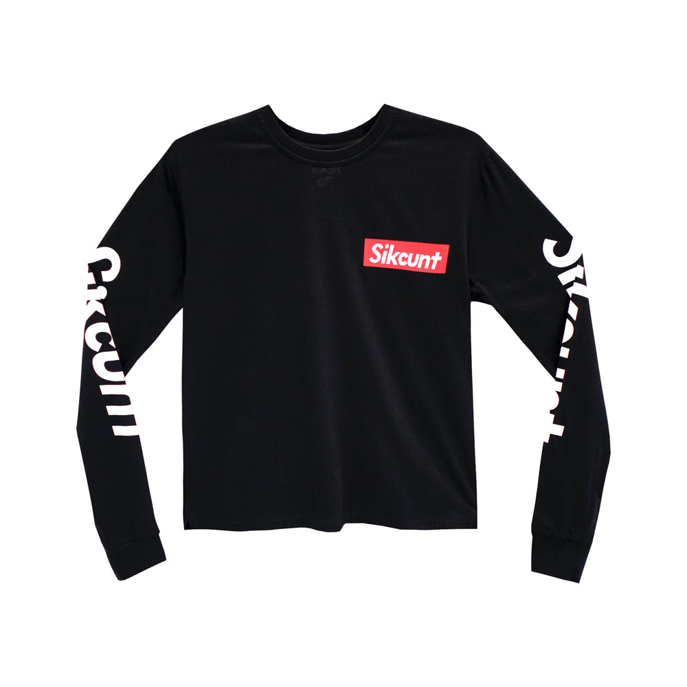 SIKCUNT GIRLS LONG SLEEVE