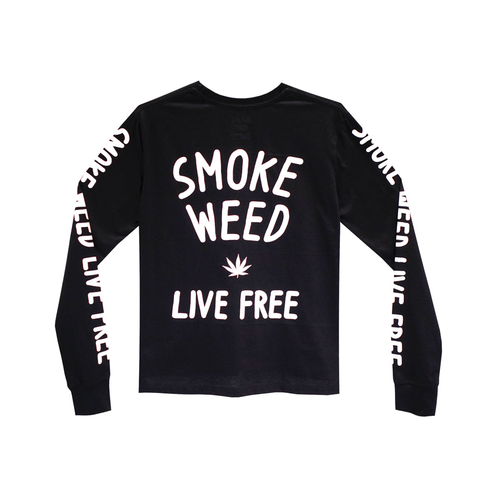 SMOKE WEED GIRLS LONG SLEEVE