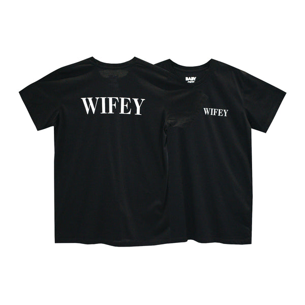 WIFEY GIRLS SMALL PRINT TEE
