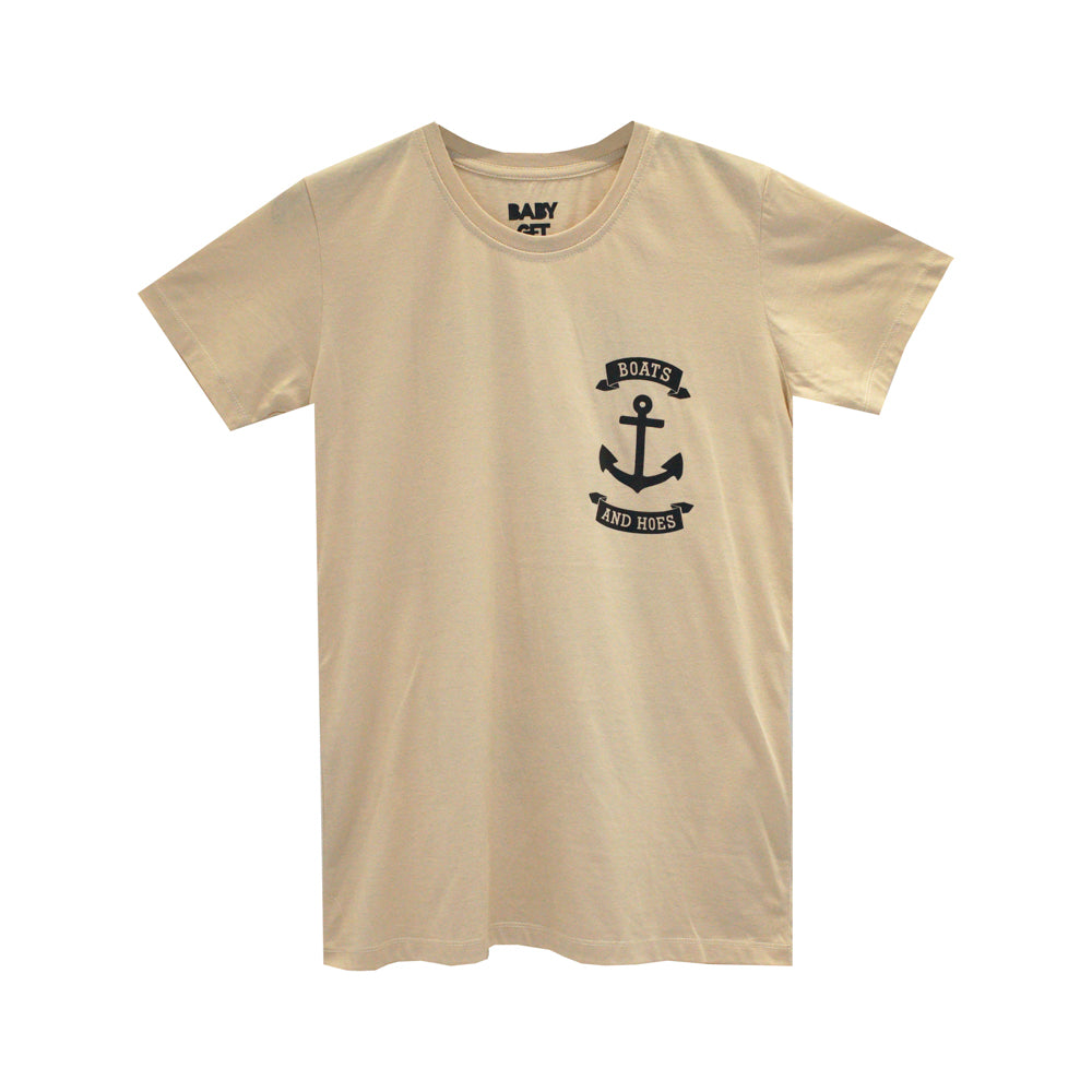 BOATS & HOES GIRLS SMALL PRINT TEE