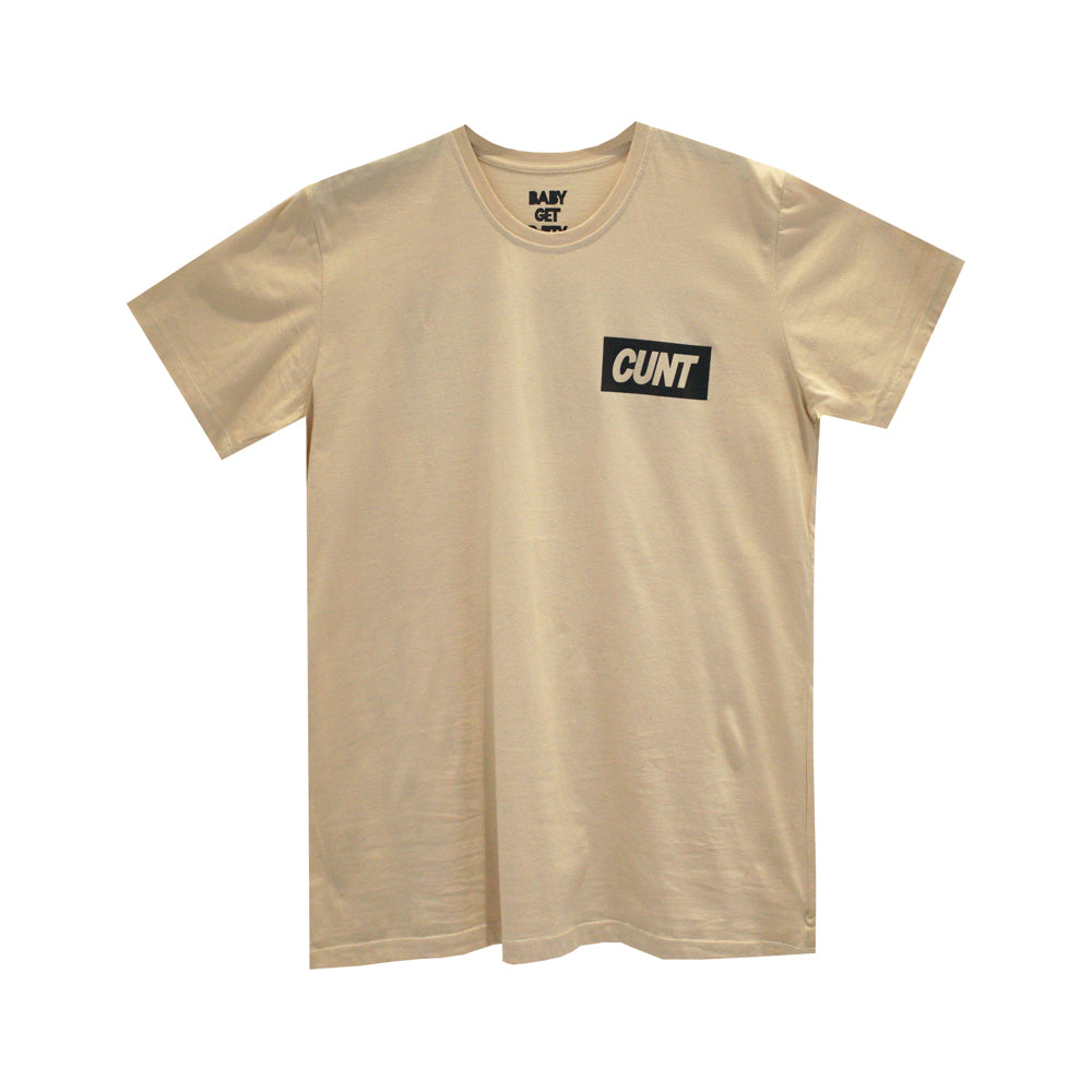 CUNT GIRLS SMALL PRINT TEE