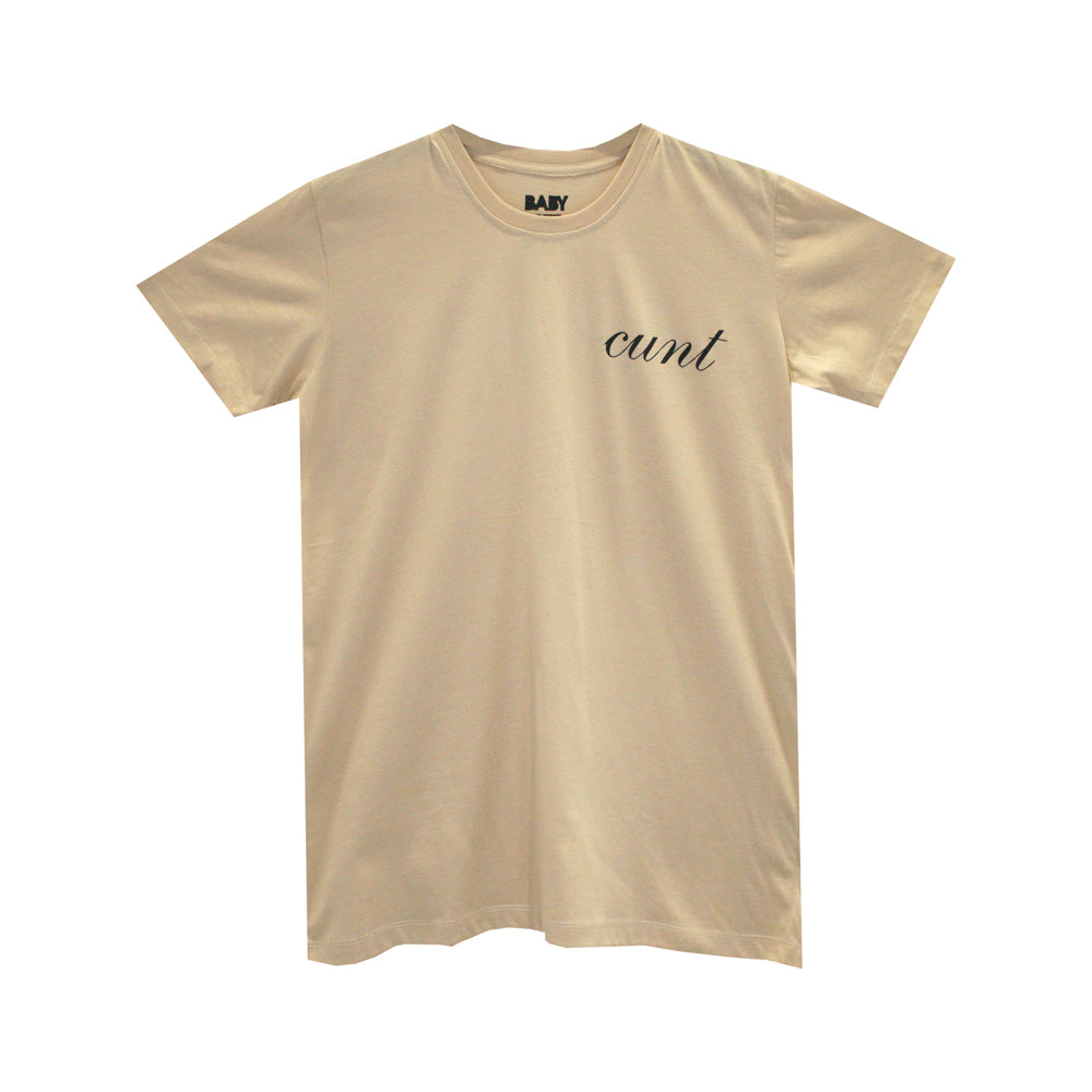 CUNT V2 GIRLS SMALL PRINT TEE