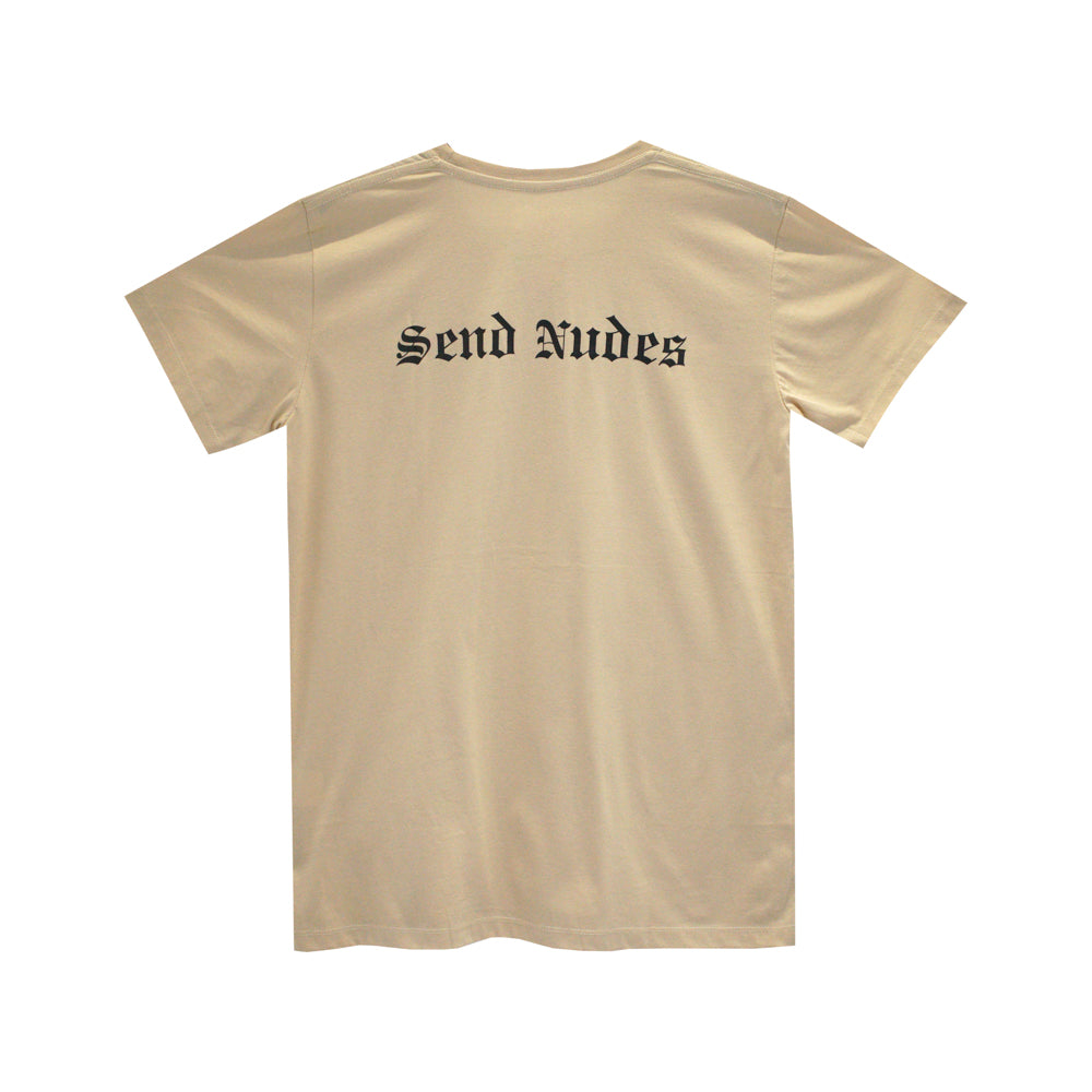 SEND NUDES GIRLS SMALL PRINT TEE