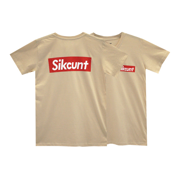 SIKCUNT GIRLS SMALL PRINT TEE
