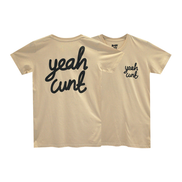 YEAH CUNT GIRLS SMALL PRINT TEE