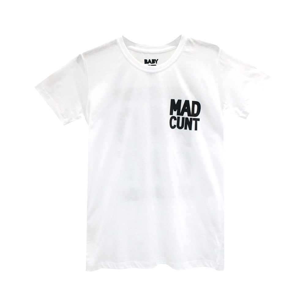 MAD CUNT GIRLS SMALL PRINT TEE