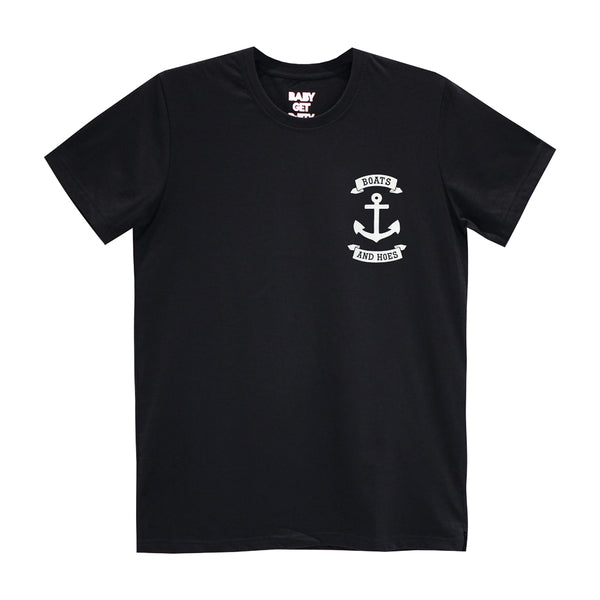 BOATS AND HOES SMALL PRINT TEE