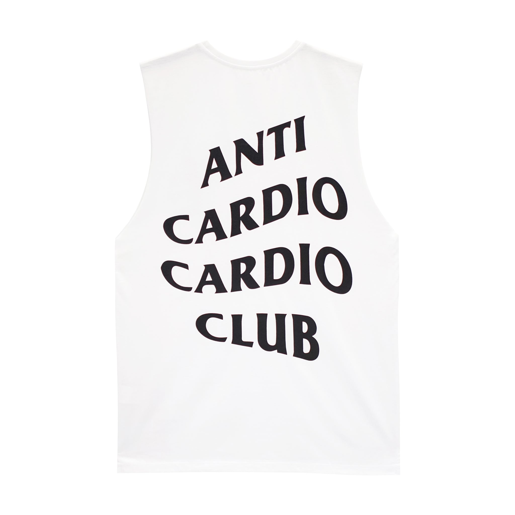 ANTI CARDIO BOYS MUSCLE TEE SMALL PRINTS
