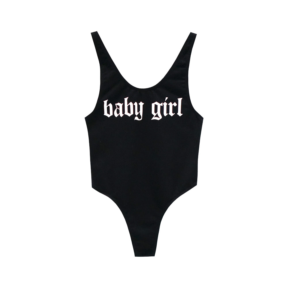 BABY GIRL BODYSUIT MID CUT