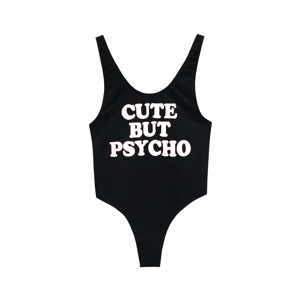 CUTE BUT PSYCHO BODYSUIT MID CUT