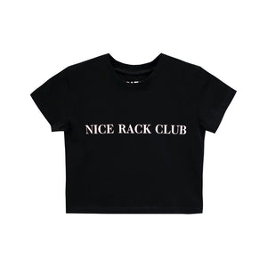 NICE RACK CLUB CROP TEE FITTED