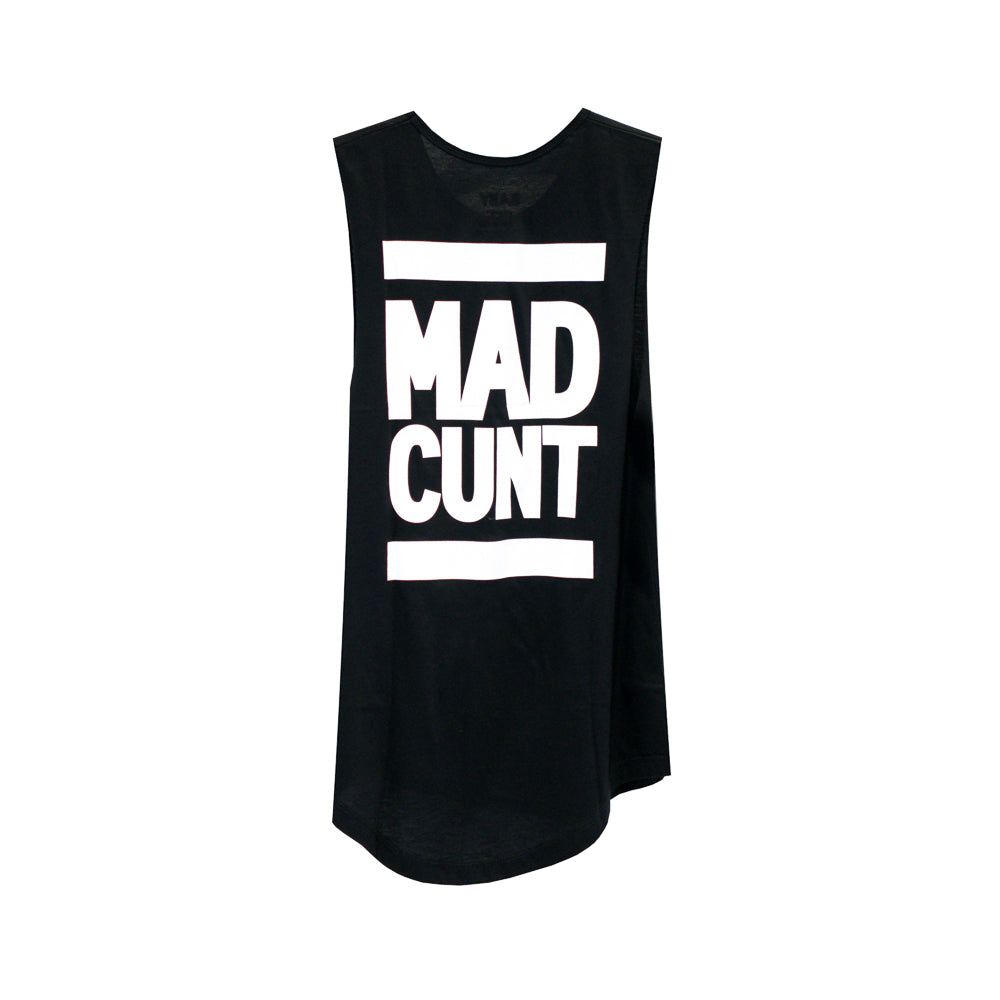 MAD CUNT GIRLS MUSCLE TEE SMALL PRINTS