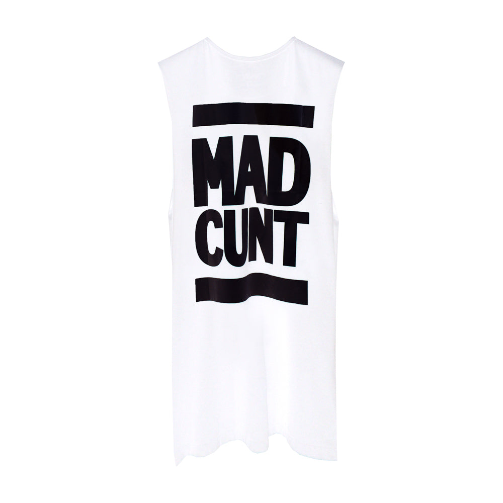MAD CUNT BOYS MUSCLE TEE SMALL PRINTS