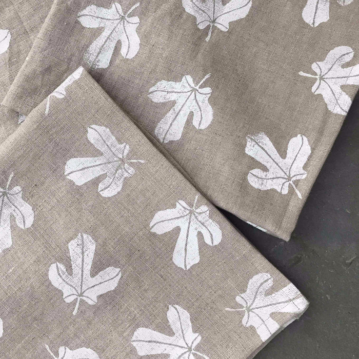 Fig Forest Print Napkins, Set of 4