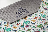 Personalized Blanket - Dinosaurs