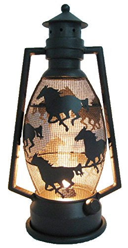 Gorgeous Horse Lantern Light (Metal) - Zana Horse - 1