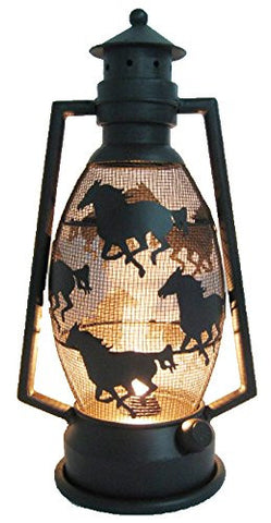 Gorgeous Horse Lantern Light (Metal)