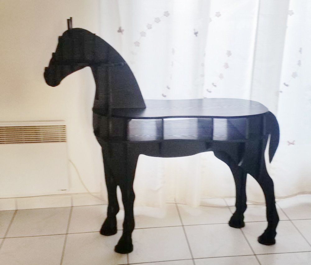 Horse-Shaped Desk - Zana Horse - 9