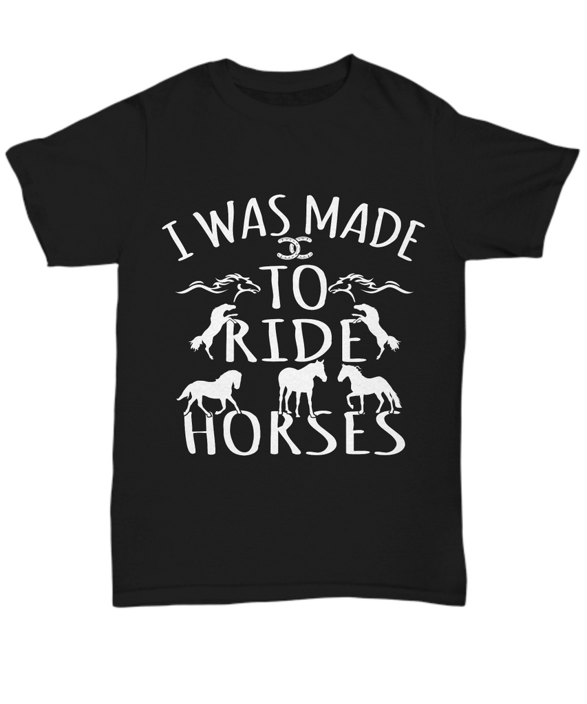 I Was Made To Ride Horses - Zana Horse - 1