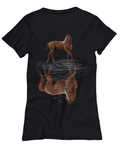 Reflection Horse 2 T-Shirt
