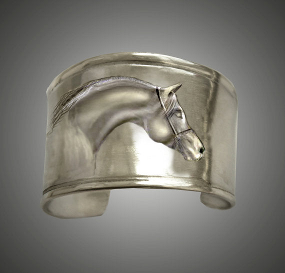 Handmade Arabian Sculptured Bracelet Cuff