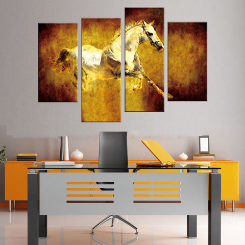 Wall Art Decor - Jumping Horse