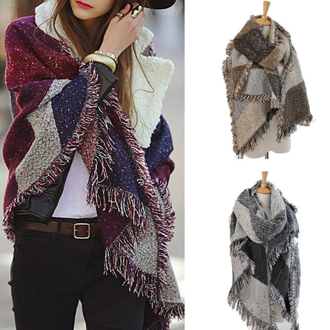 French Woolen Shawl/Scarf