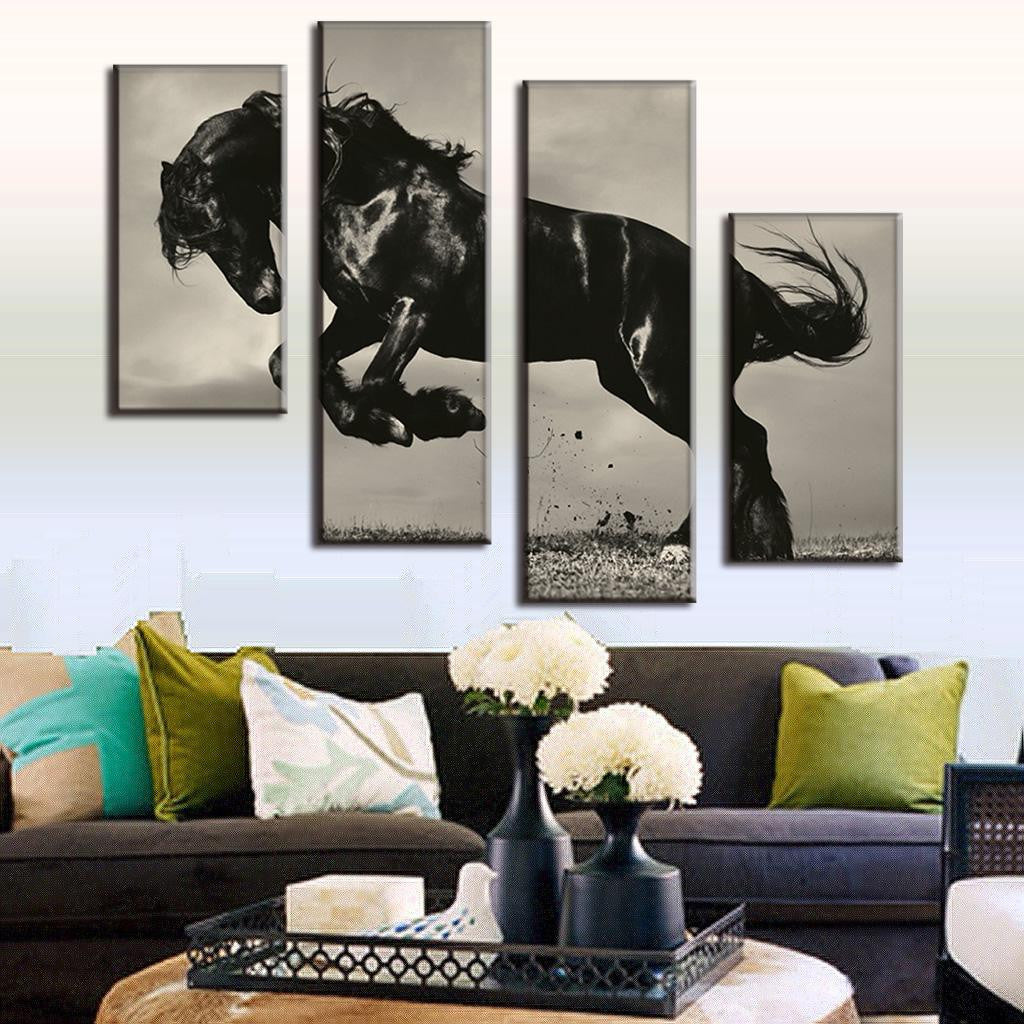 Wall Art Decor - Galloping Horse - Zana Horse - 2
