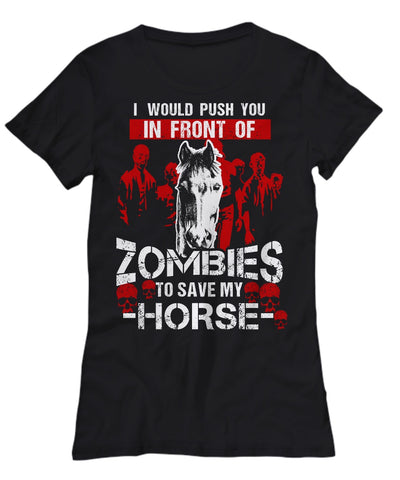 Horse Zombie T-shirt