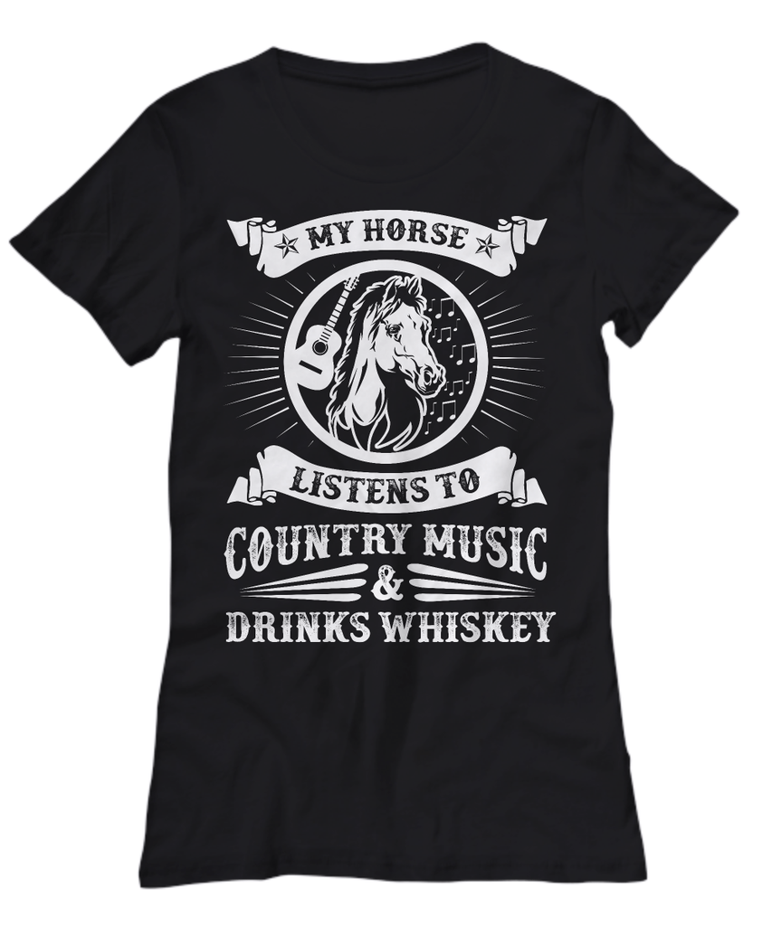 My Horse Listens To Country Music - Zana Horse - 3