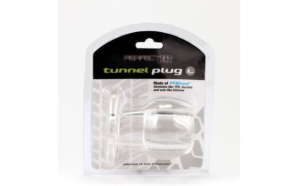Perfect Fit Tunnel Plug Large Clear