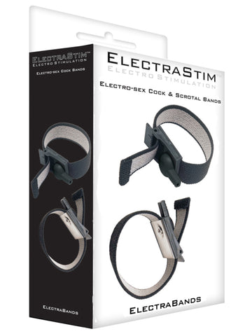 Electrastim Adjustable Fabric Cock And Scrotal Loops