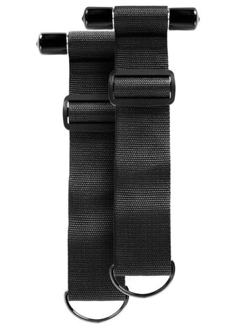 Sinful Door Restraint Straps - Black