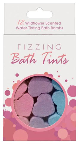 Fizzing Bath Tints (12 piece)