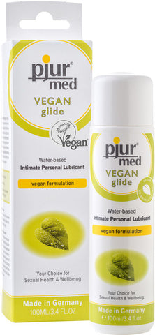 Pjur Med Vegan Glide 100ml Waterbased Lubricant