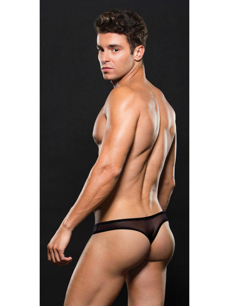 Envy Mesh Thong Black Small/Medium