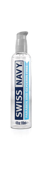 Swiss Navy 4oz - Paraben And Glycerin Free
