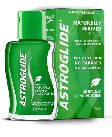 Astroglide Naturally Derived Water Based Lubricant & Vaginal Moisturiser 74ml 100% Natural Or Organic Derived Ingredients